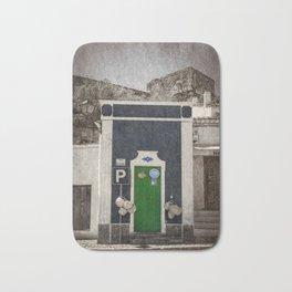 a green door in Portugal, the Alentejo Bath Mat