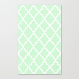 White Rombs #12 The Best Wallpaper Canvas Print