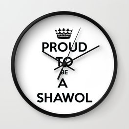 Proud To Be Shawol Wall Clock