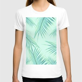 Summer Palm Leaves Dream #1 #tropical #decor #art #society6 T-shirt