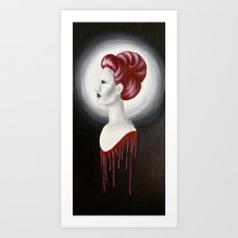The Red Pill  Art Print
