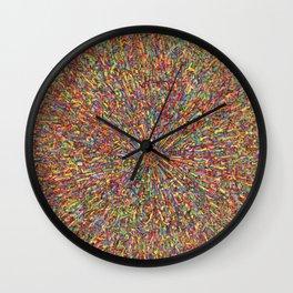 zooming Wall Clock