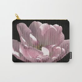 Tulip with gauze textured petals Carry-All Pouch