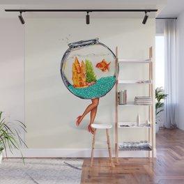 Fishbowl Pin-Up Wall Mural