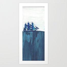 Tiny Boat Art Print