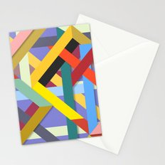 Abstract #225 Corners, Intersections & Dead Ends Stationery Cards