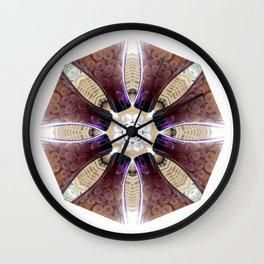 Baskets, Bubbles and Buttons Wall Clock
