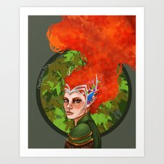 Keyleth Art Print