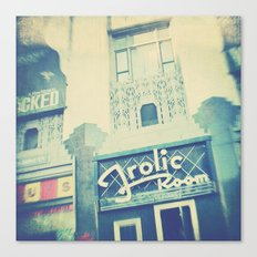 Frolic Room, Los Angeles Hollywood photograph Canvas Print