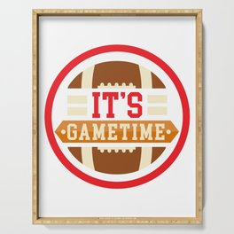 It's Gametime Serving Tray