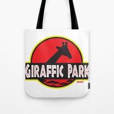 Giraffic Park Tote Bag
