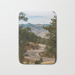 Rocky Mountain Road Trip Bath Mat