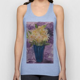 Everything is coming up Daisies Unisex Tank Top