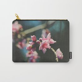 Peach tree in bloom Carry-All Pouch