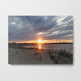 Gifts at the Beach Metal Print