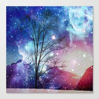 twilight Canvas Prints featuring Twilight by haroulita