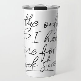 BS and Book Stores Travel Mug