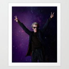 Doctor Disco Art Print