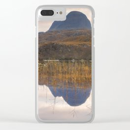 Suilven at Sunrise Clear iPhone Case