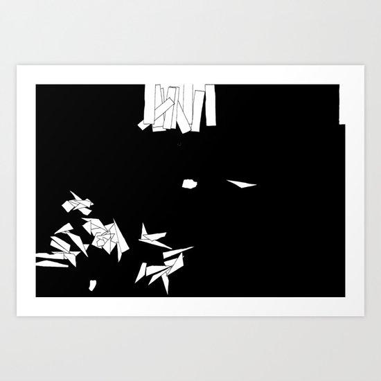 Fragmentation 2 Art Print