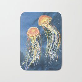Dancing of Jellyfish Bath Mat