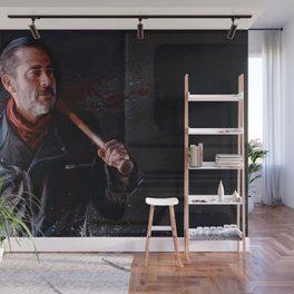 Negan And Lucille - The Walking Dead Wall Mural