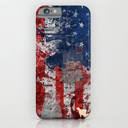 america map  iPhone Case