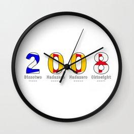 2008 - NAVY - My Year of Birth Wall Clock