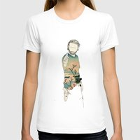 grimes T-shirts featuring Rick Grimes by Cassius