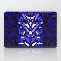 predator iPad Cases featuring Predator - Blue by Ornaart