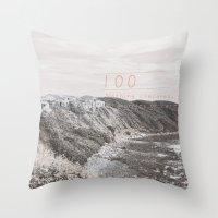 the 100 Throw Pillows featuring 100. by Beidan Shiu