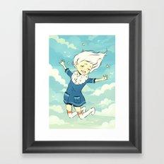 Spring Sky Framed Art Print