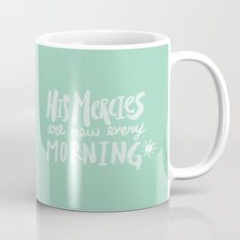 Mercy Morning x Mint Coffee Mug