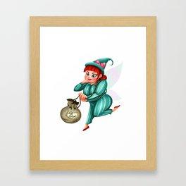 The Cruddy Fairies - Lola Framed Art Print