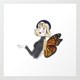 fly oon Art Print