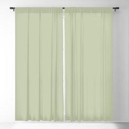 Pratt and Lambert 2019 Mellon Green (Sage Green) 18-28 Solid Color Blackout Curtain