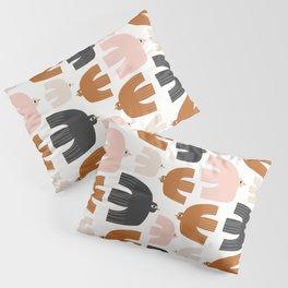 Birds In Flight | Mixed Palette Pillow Sham
