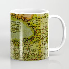 The Caspian Sea 1570 Coffee Mug