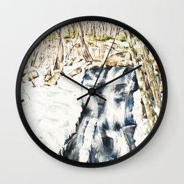 Crabtree Falls Wall Clock