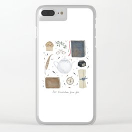 House of the Wise Clear iPhone Case