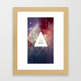 Bastille Galaxy Triangle Framed Art Print