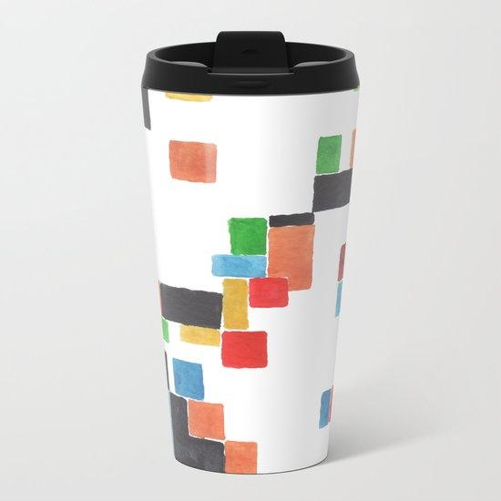 Pattern #11 Metal Travel Mug