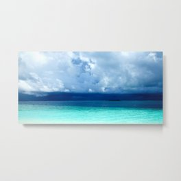 Maldives colors Metal Print