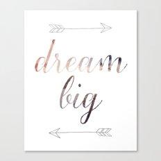 Dream Big No. 2 Canvas Print