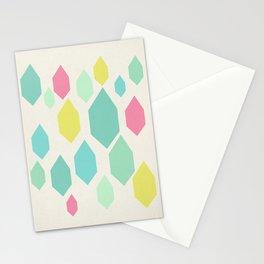 Diamond Shower II Stationery Cards