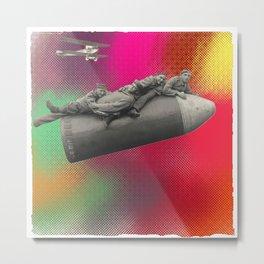 bombe humaine Metal Print
