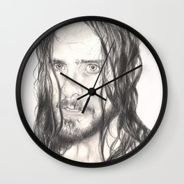 jared... wet. Wall Clock