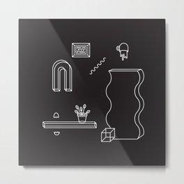 THE ODYSSEY [B/W] Metal Print