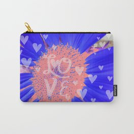 Pink Hearts Forever Carry-All Pouch