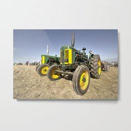 Turner Tractors  Metal Print